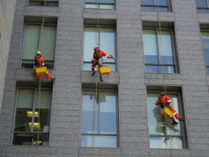 window cleaning 300x225 - What You Should Know About Glass Degradation