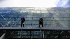 window cleaning 300x169 - Points to Consider - Hiring a High-Rise Window Cleaning Company