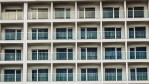 balconies high rise 300x169 - Challenges Faced with Exterior High-Rise Condo Repairs