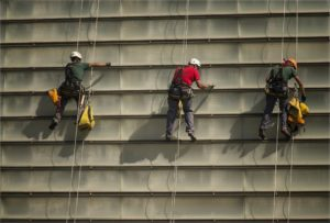 high rise repairs 300x203 - Challenges Faced with Exterior High-Rise Condo Repairs