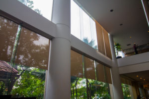 clean windows in a lobby 300x200 - A Guide for Improved Commercial Window Cleaning