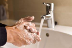 hand washing 300x200 - Keeping Your Office and Work Force Safe During Flu Season