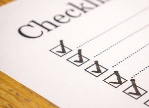 checklist 300x218 - What You Should Expect from A Good Cleaning Company