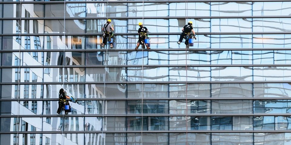 glass facade window cleaning panorama - Window Cleaning - Low and High Rise - Toronto, GTA, Call For a Free Quote