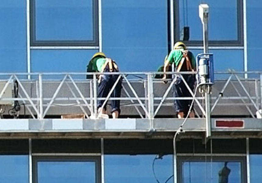 highrise window cleaning 1 landscape - High Rise Window Cleaning Toronto | Excel Projects